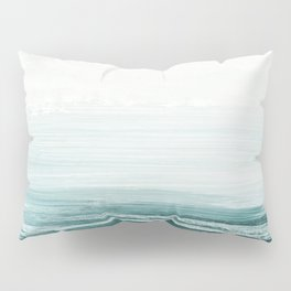 hazy emerald sea Pillow Sham