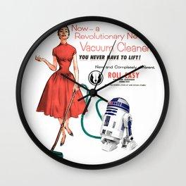 R2D2 Vacuum Wall Clock