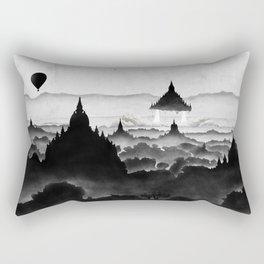 Aurora (On Paper) Rectangular Pillow