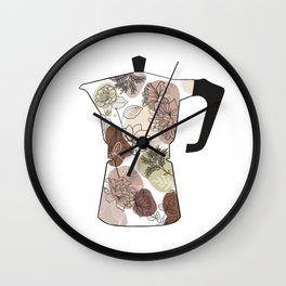 coffee maker Wall Clock
