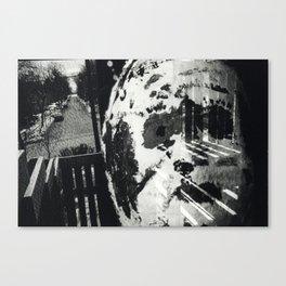 Untitled 'Mask' Canvas Print