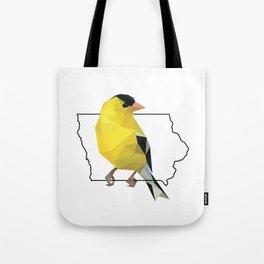 Iowa – American Goldfinch Tote Bag