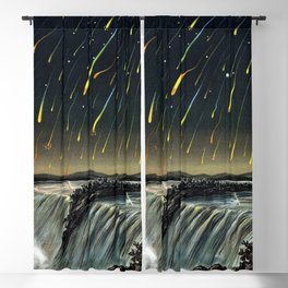 Starfall in North America by Edmund Weiss Blackout Curtain