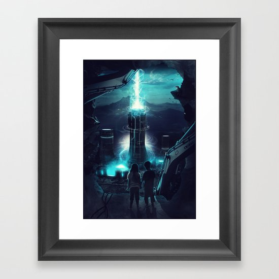 Where we once played Framed Art Print