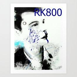 Detroit Become Human: Connor RK800 Art Print