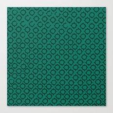 Teal Pattern Canvas Print