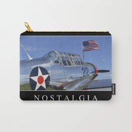 Nostalgia: Inspirational Quote and Motivational Poster Carry-All Pouch