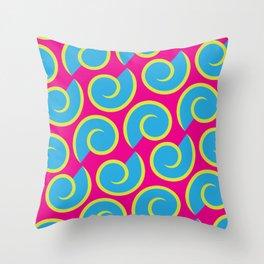 Pop Shell Throw Pillow