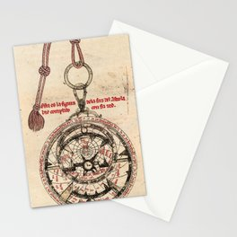 Libros del saber (1276) - Diagram of an Astrolabe Stationery Cards