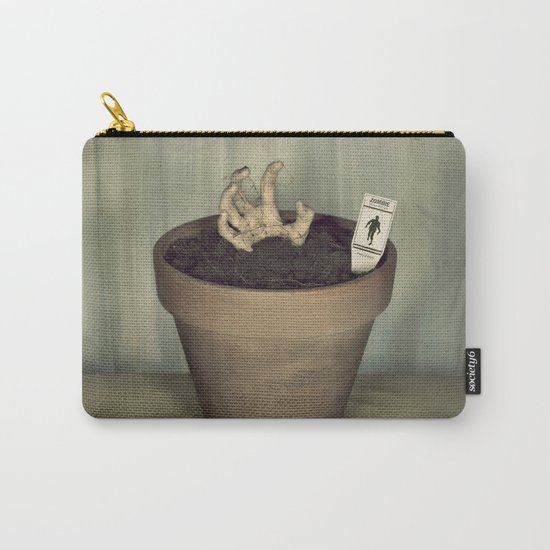 Zombie Plant Carry-All Pouch