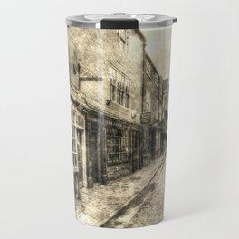 The Shambles York Vintage Travel Mug