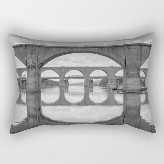 Reflections on the Susquehanna Rectangular Pillow