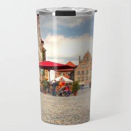 Green Market in Fürth Travel Mug