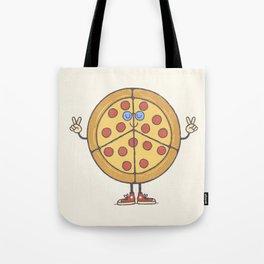 Pizza & Love Tote Bag