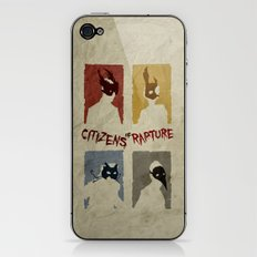 Bioshock - Citizens of Rapture iPhone & iPod Skin
