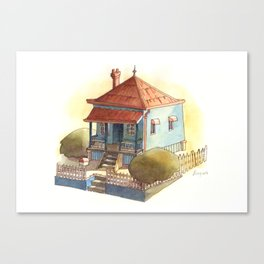 Little House Canvas Print