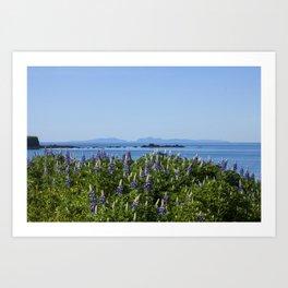Scenic Alaskan Photography Print Art Print