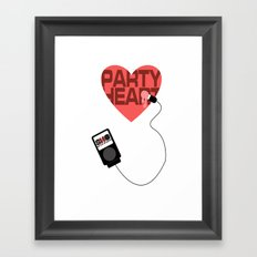 S.N.O Party Heart Framed Art Print