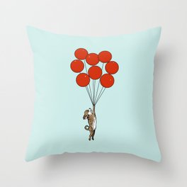 I Believe I Can Fly Chihuahua Throw Pillow
