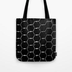 Minimalistic Beehive Tote Bag