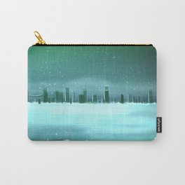 City winterscape Carry-All Pouch