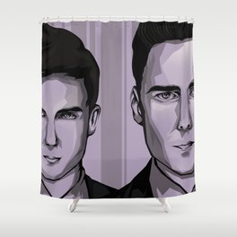 Ross and Harvey Shower Curtain