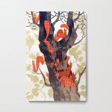 The Devils of Dark Bark Metal Print