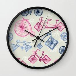 Crazy Bikes Wall Clock
