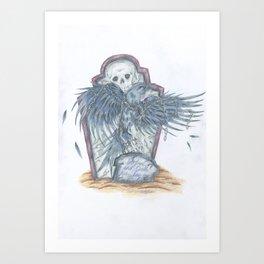 Ravens Grave Art Print