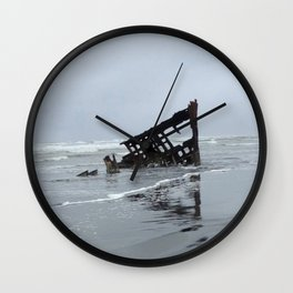 ShipWrecked Wall Clock
