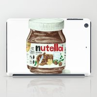 nutella iPad Cases featuring Nutella by Owl Feather Studio
