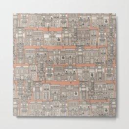 Avenue des Mode Metal Print
