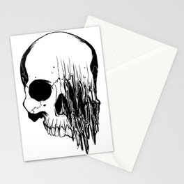 Skull (Distortion) Stationery Cards