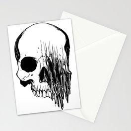 Skull (Distortion) Stationery Cards