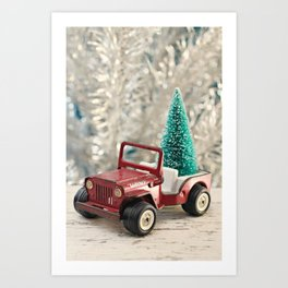 Tonka Christmas Art Print