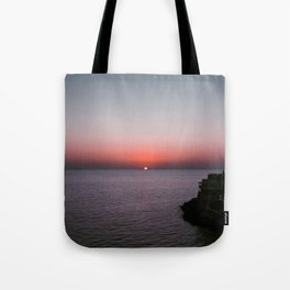 Sunset over Forio Tote Bag