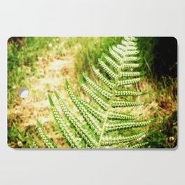 Green Fern Cutting Board