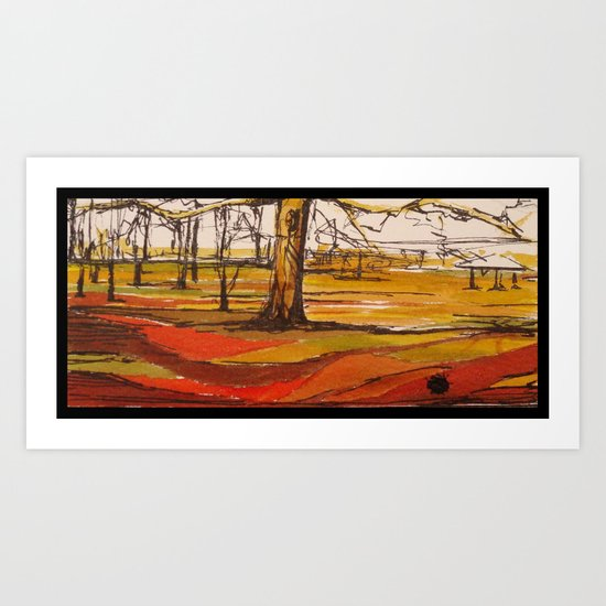 Phoenix Park III Art Print