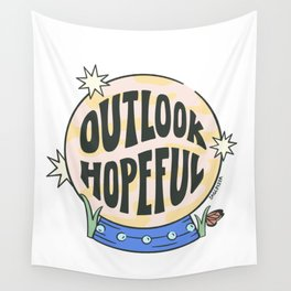 OUTLOOK HOPEFUL Wall Tapestry
