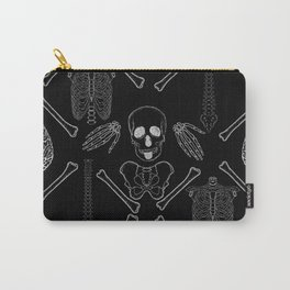 band of skulls - negative Carry-All Pouch