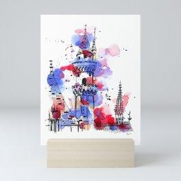 The Castle of Sleep Mini Art Print