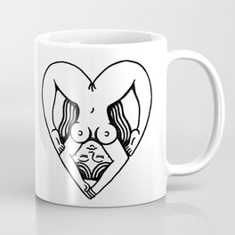 Body Heart Coffee Mug