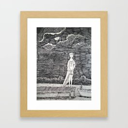 Gorey Tribute Framed Art Print
