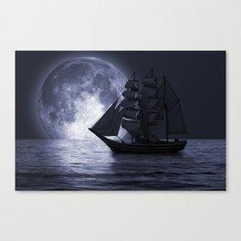 Nightsail Canvas Print