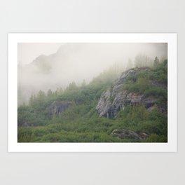 Glacier Bay Alaska Art Print