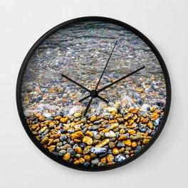 At the water's edge Wall Clock