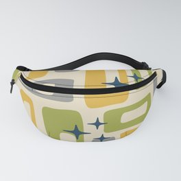 Retro Mid Century Modern Abstract Pattern 614 Fanny Pack