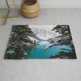 Paradise in the Mountains (Color) Rug