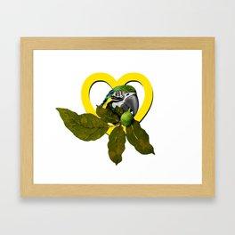 i love my ara Framed Art Print