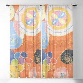 Hilma af Klint Number 3 Sheer Curtain